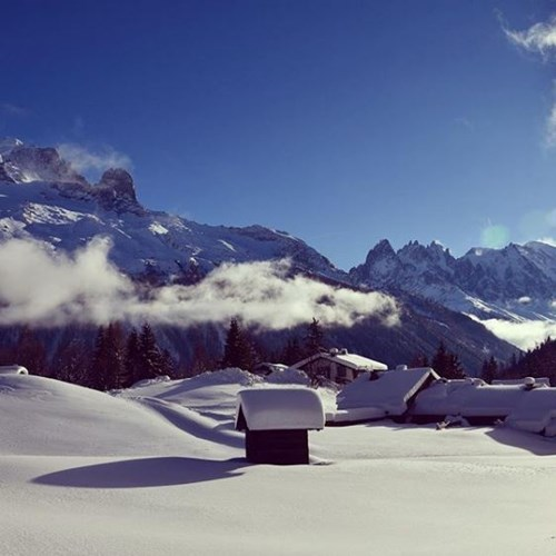 Where is the snow in Chamonix