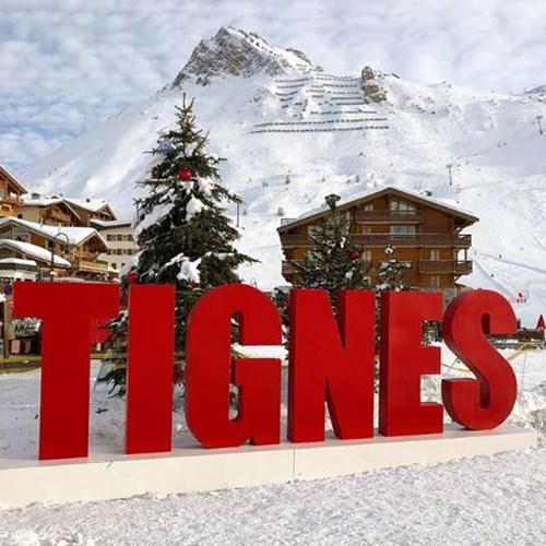 Where is the snow in Tignes