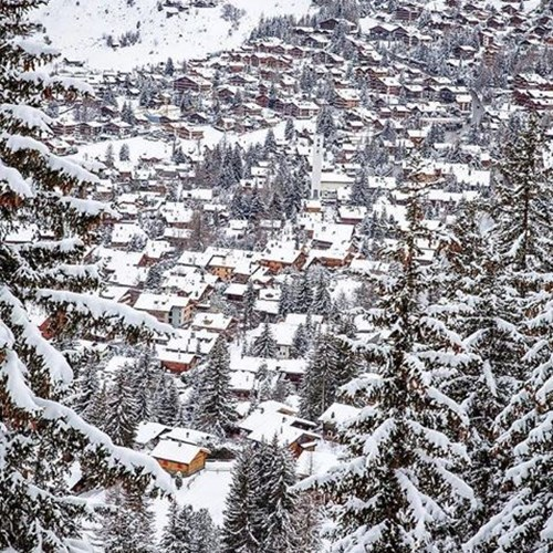 Where is the snow in verbier