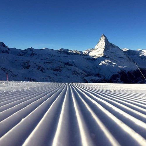 Where is the snow in zermatt