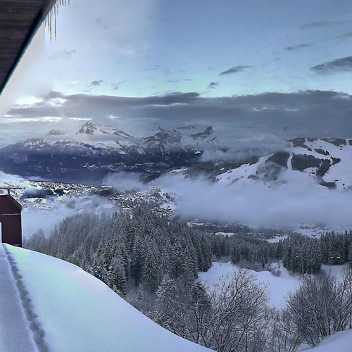 Where is the snow in Megeve