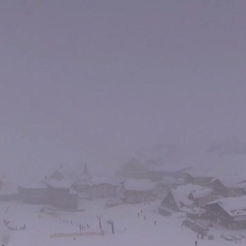 Webcam over St Christoph,  St Anton ski area - today at 13.05