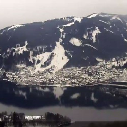 Webcam over the lake in Zell am See - today at 13.16