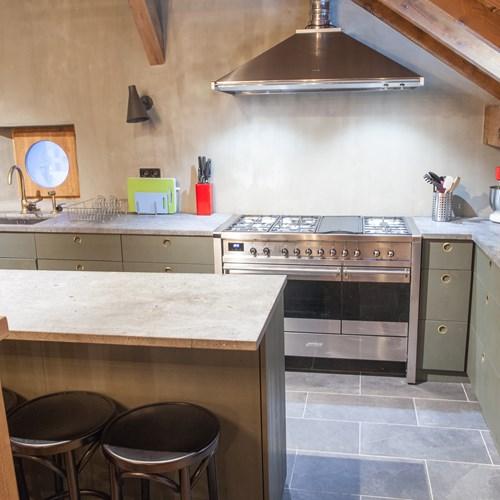 The Loft Chamonix kitchen area