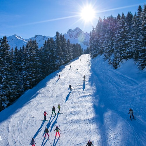 ski conditions in Courchevel