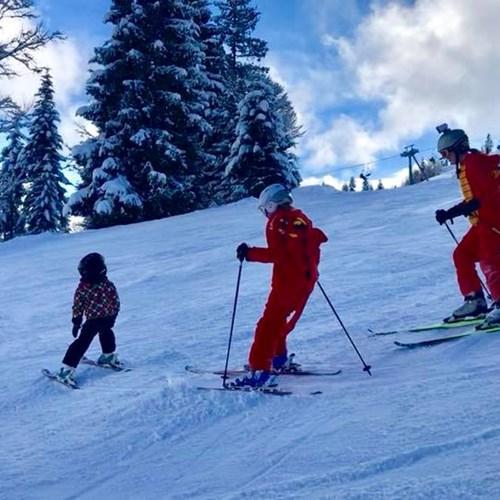 St Johann ski resort, plenty of snow