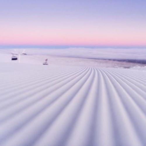 fresh snow slopes in Trysil