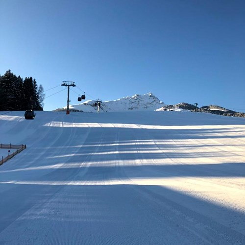St Johann, snow, conditions