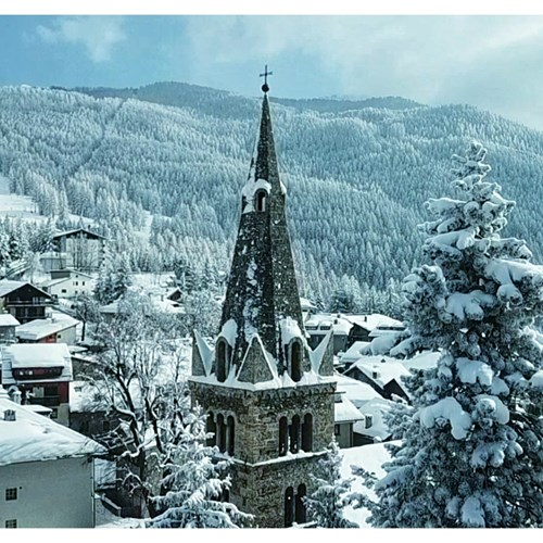 snowfall in sauze d'oulx
