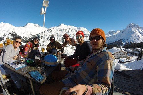 Group ski holidays in st anton