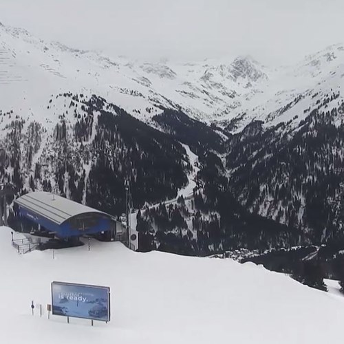 snow in st anton, snow report