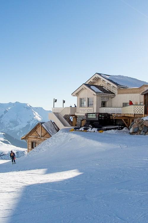 Alpe d'Huez folie douce from below