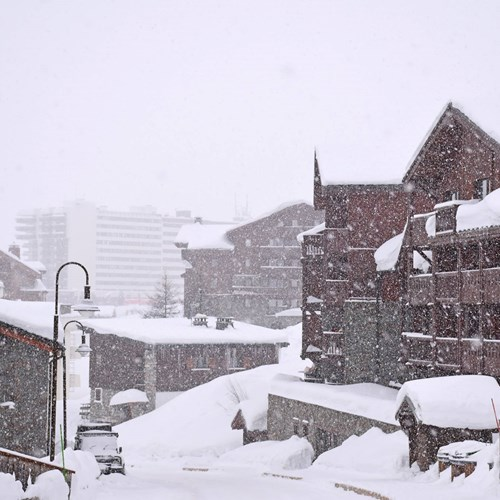 snowing in Tignes, 2017-2018