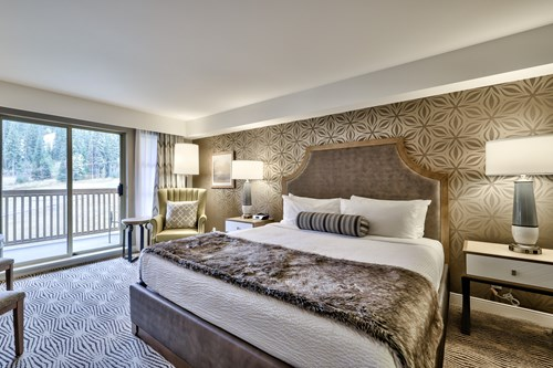 Sun Peaks Grand rennovated guest room