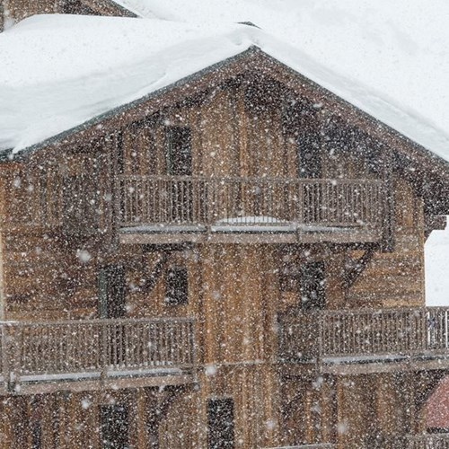 Snow in Val Thorens