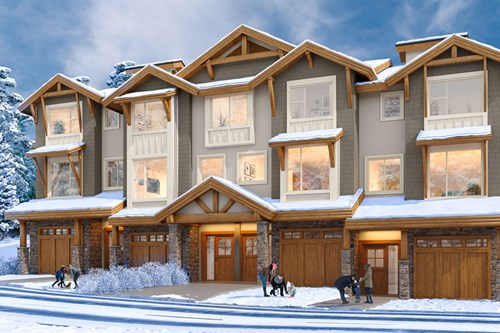 Sun Peaks Resort Updates - Echo Landing townhoomes