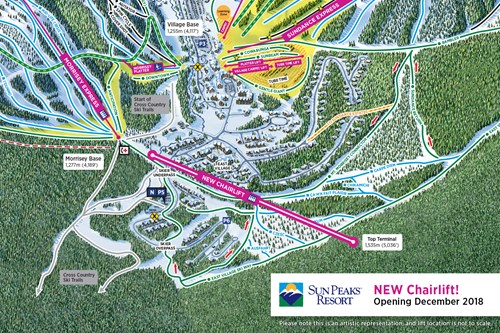 Sun Peaks - Rresort Updates - new chairlift