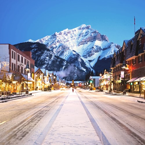 Travel Alberta - Banff Avenue - Dusk.jpg