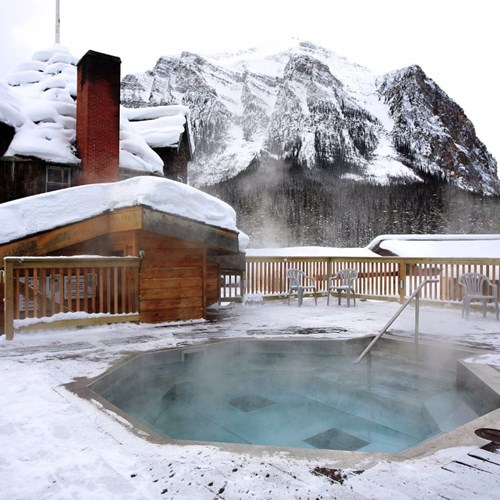 Deer Lodge-Lake Louise-outdoor hot tub.JPG