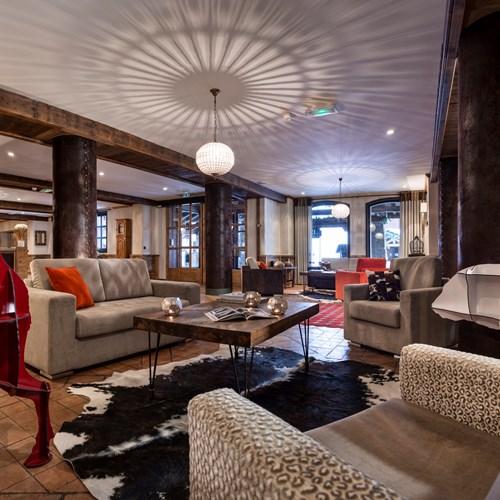 Hotel Village Montana-Tignes-lounge area