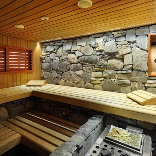 Grindelwald ski resort Hotel Eiger sauna