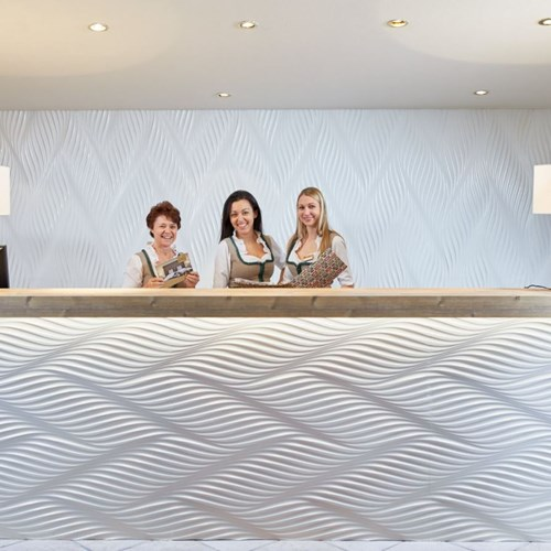 Hotel Das Alpenhaus, ski accommodation Bad Hofgastein, Austria, reception