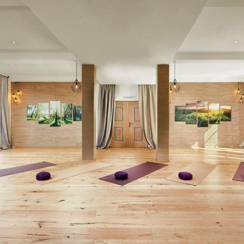 Hotel Das Alpenhaus, ski accommodation Bad Hofgastein, Austria, yoga room