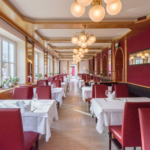 Hotel Germania-ski accommodation in Bad Hofgastein-light restaurant