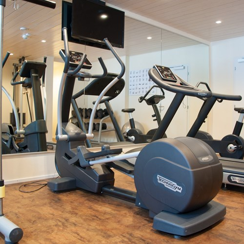 fitness room at the Hotel Silberhorn Wengen