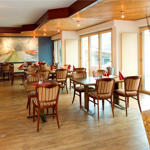 a la carte restaurant at the Hotel Silberhorn Wengen