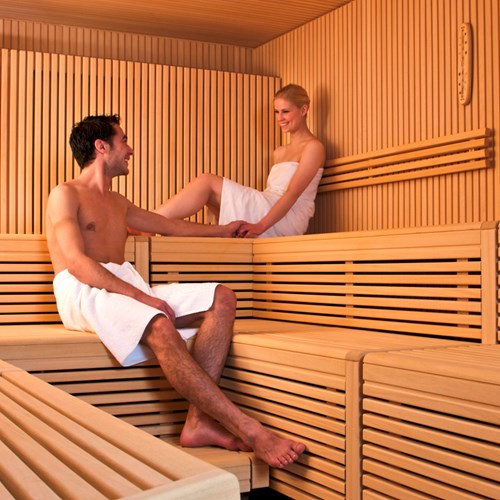sauna at Hotel Silberhorn Wengen, Switzerland