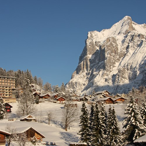 Hotel Belvedere-ski hotel in Grindelwald-hotel location in the mountains
