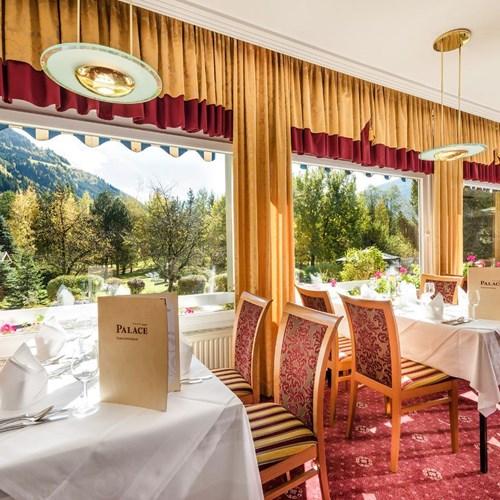 palace hotel, ski accommodation in Bad Hofgastein, Austria, restaurant