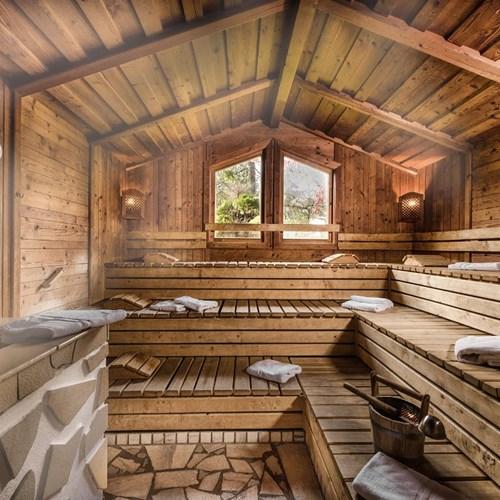 Hotel Palace, ski accommodation in Bad Hofgastein, Austria, sauna