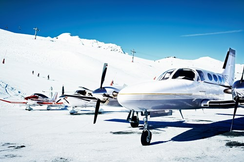 Courchevel Altiport, fly to Courchevel