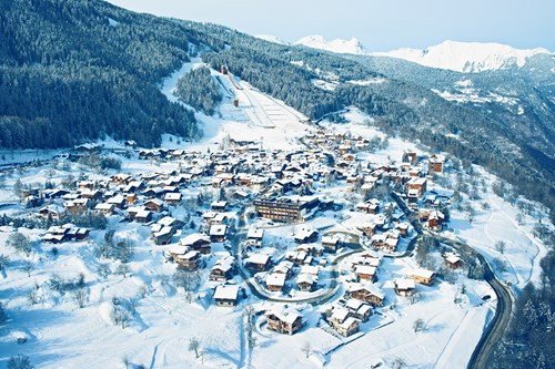 Courchevel family village