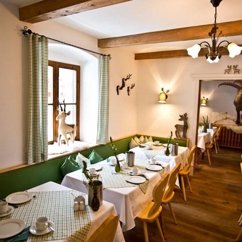 Hotel Gamshof-kitzbuhel ski accommodation-dining room