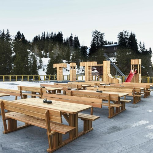 Trubsee Alpine Lodge-Engelberg ski resort-sun terrace