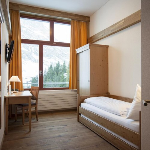 Trubsee Alpine Lodge-Engelberg ski resort-single room