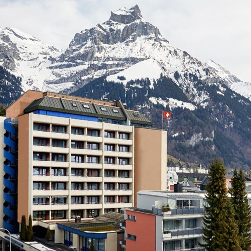 Views of the H+ Hotel & SPA in Engelberg
