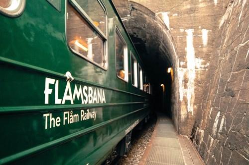 Flamsbana train, Norway - Geilo