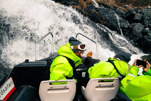 Fjord safari-RIB boat-ski and fjord experience-Norway
