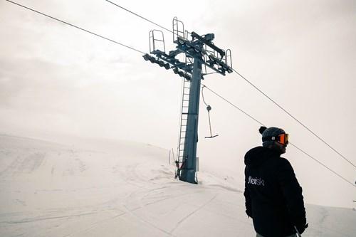 skiing in Myrkdalen, Norway