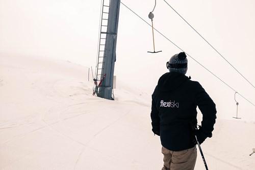 ski in Norway, Myrkdalen