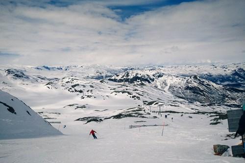 skiing in Norway, Hemsedal