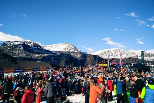 Party in Hemsedal, ski Norway