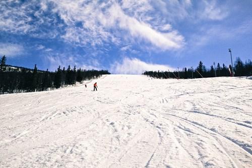 Norway skiing, Hemsedal piste