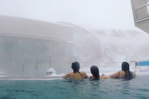 spa day in st anton - activities for non skiers